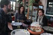 Da esquerda para a direita: Diógenes, Fernanda e Graziela